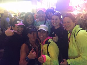 Lisa Kiley finishes her first Ironman.