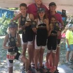 Ainsley Matthew 3rd overall at Decatur kids tri