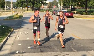 Grim Reaper Fitness at Tri the Illini, Jason Sturdyvin, Jeremy Bauer, Jason Bauer